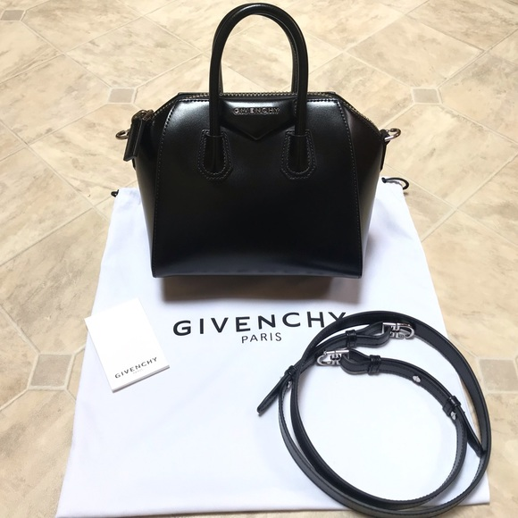 30214d940f6 Givenchy Handbags - Givenchy Mini Antigona Smooth Leather Satchel EUC